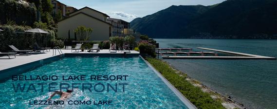 vacanza in villa sul lago di Como