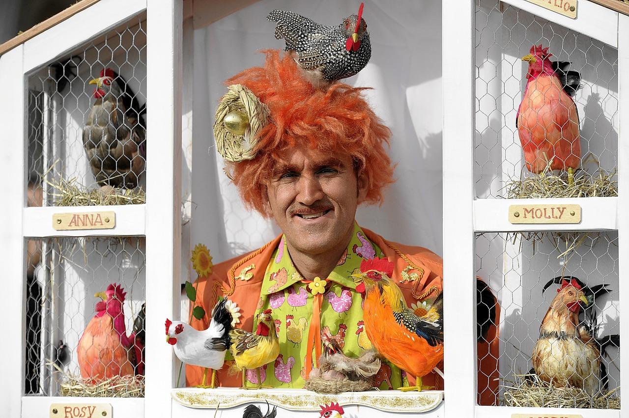 Vestiti di Carnevale originali per le feste di Carnevale